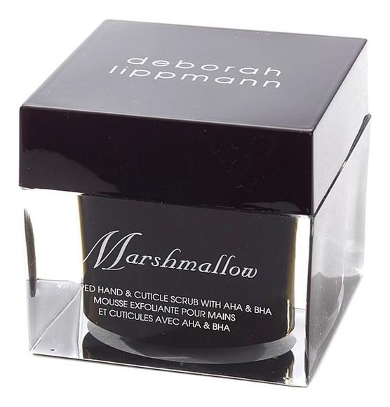 Скраб для рук Marshmallow Whipped Hand & Cuticle Scrub with AHA & BHA: Скраб 57г