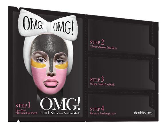 Система для ухода за кожей лица 4 In 1 Zone System Mask: Четырехкомпонентная система 1шт