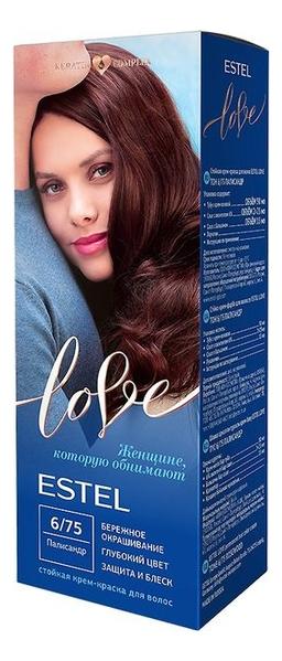 Купить Стойкая крем-краска для волос Love: 6/75 Палисандр, ESTEL