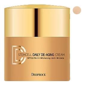 Купить DD крем для лица маскирующий Stem Cell Daily De-Aging Cream SPF50+ PA+++ 40г: No 21, Deoproce