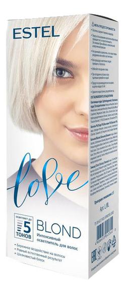 Интенсивный осветлитель для волос Love Blond самый щадящий осветлитель для волос