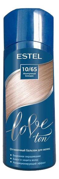 оттеночный бальзам для волос estel love ton 6 65 вишня lt6 65 Оттеночный бальзам для волос Love Ton 150мл: 10/65 Жемчужный блондин
