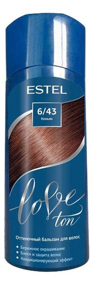 оттеночный бальзам для волос estel love ton 6 65 вишня lt6 65 Оттеночный бальзам для волос Love Ton 150мл: 6/43 Коньяк