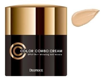 CC крем для лица Color Combo Cream SPF50 PA++ 40г: No 13 крем для век омолаживающий 40г deoproce herb gold