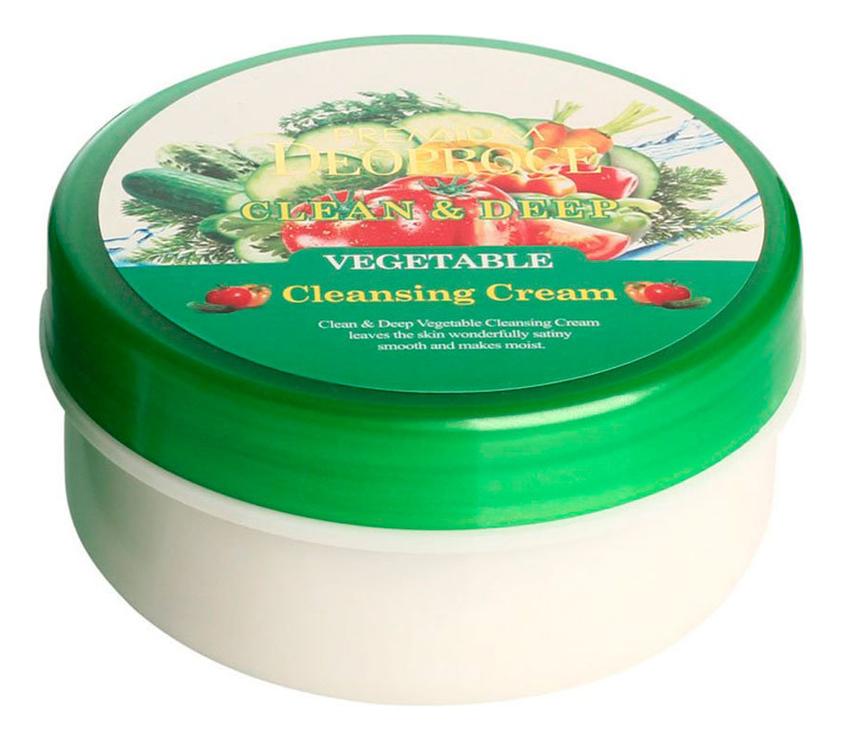 Крем для лица очищающий Premium Clean & Deep Vegetable Cleansing Cream 300г себолосьон очищающий premium цена