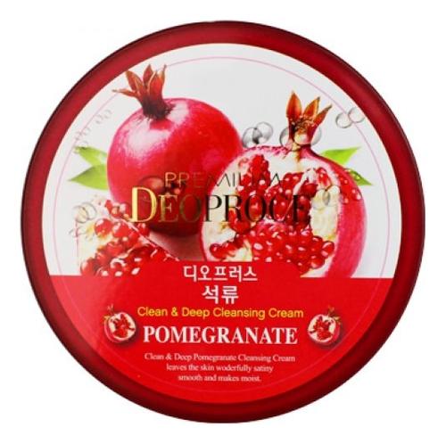 Крем для лица очищающий с экстрактом граната Premium Clean & Deep Pomegranate Cleansing Cream 300г себолосьон очищающий premium цена
