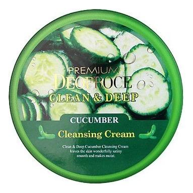 Крем для лица очищающий с экстрактом огурца Premium Clean & Deep Cucumber Cleansing Cream 300г себолосьон очищающий premium цена
