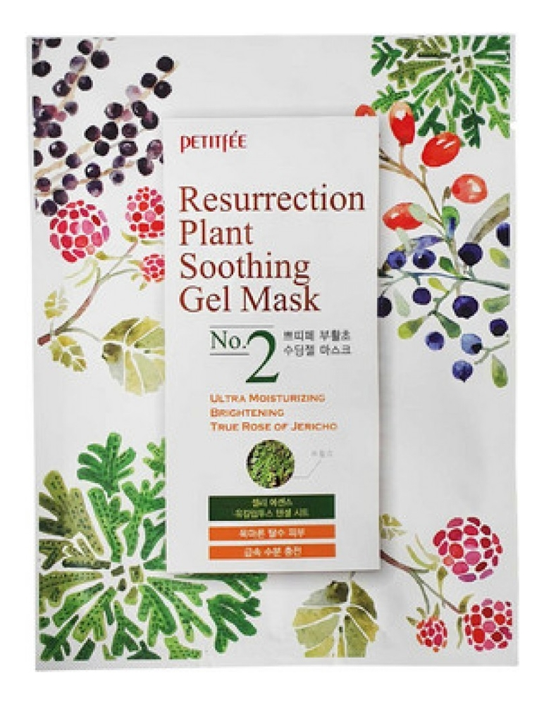Купить Тканевая маска для лица Resurrection Plant Soothing Gel Mask: Маска 30г, Petitfee