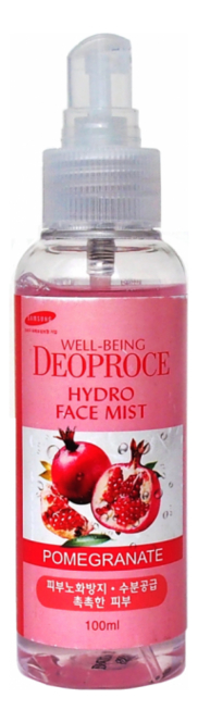 Мист для лица увлажняющий Well-Being Hydro Face Mist Pomegranate 100мл