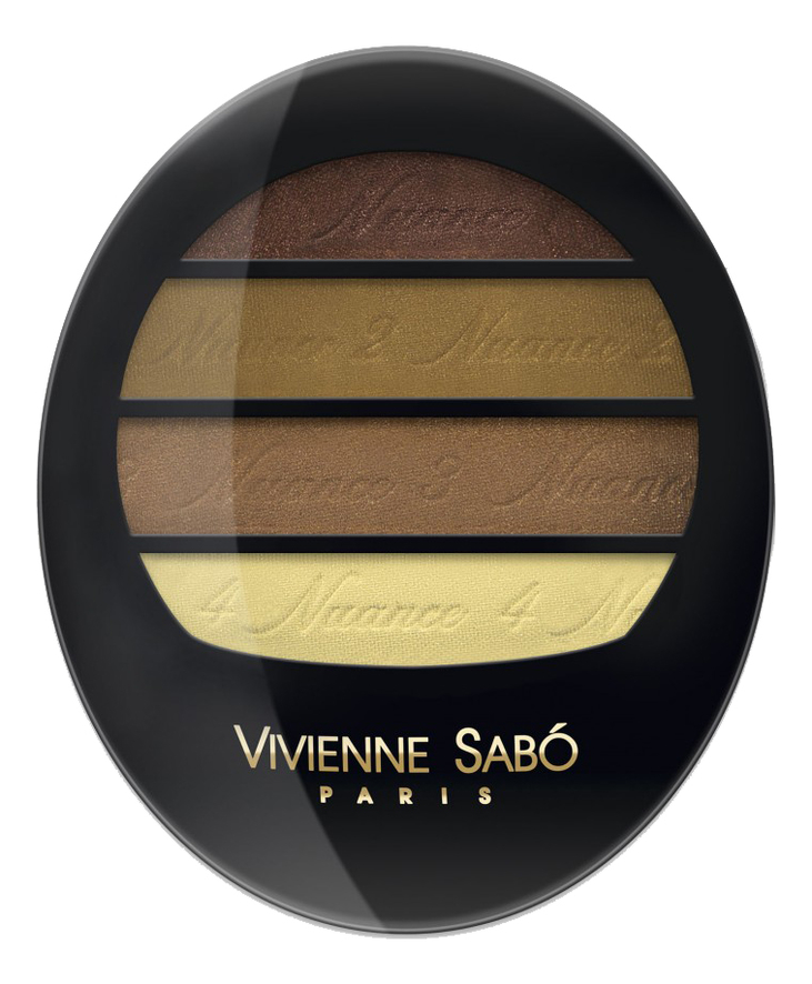 Купить Тени для век Квартет Quatre Nuances Ombre a Paupieres Quartette 3, 8г: No 66, Vivienne Sabo