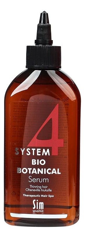 Купить Сыворотка против выпадения волос Био ботаническая System 4 Bio Botanical Serum: Сыворотка 200мл, Sim Sensitive