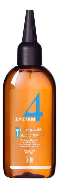 Купить Тоник для стимуляции роста волос System 4 Climbazole Scalp Tonic: Тоник 100мл, Sim Sensitive