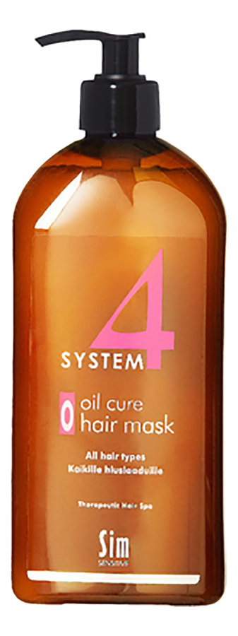 Маска для волос Терапевтическая System 4 Oil Cure Hair Mask: Маска 500мл
