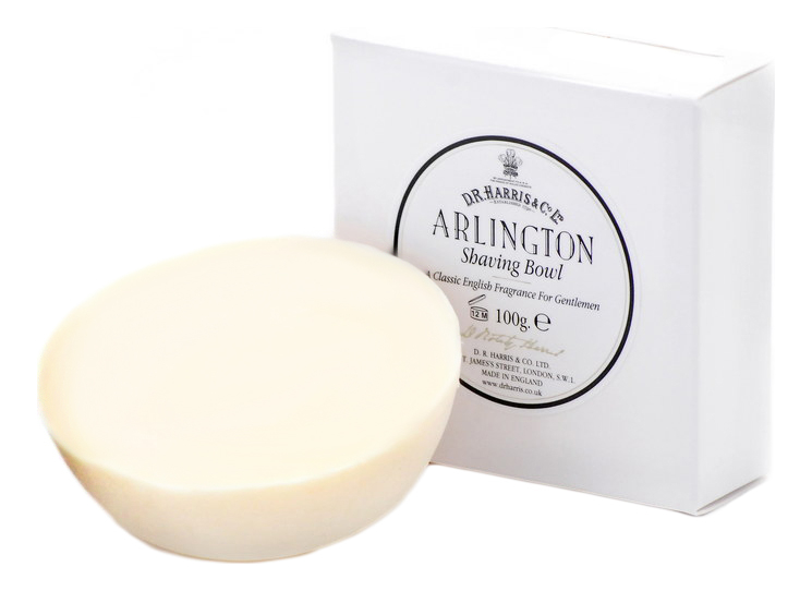 Купить Твердое мыло для бритья Shaving Bowl 100г: Arlington (цитрус, папоротник), D.R.Harris
