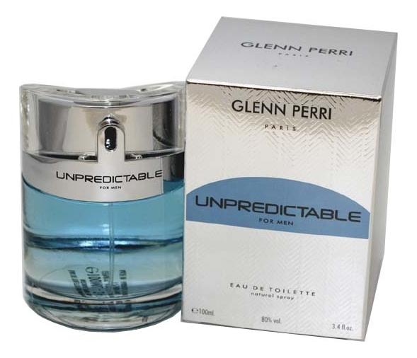 Glenn Perri Unpredictable For Men: туалетная вода 100мл