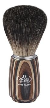 Фото - Помазок для бритья Барсучий ворс 11,1см 6752 помазок omega 618 барсучий ворс