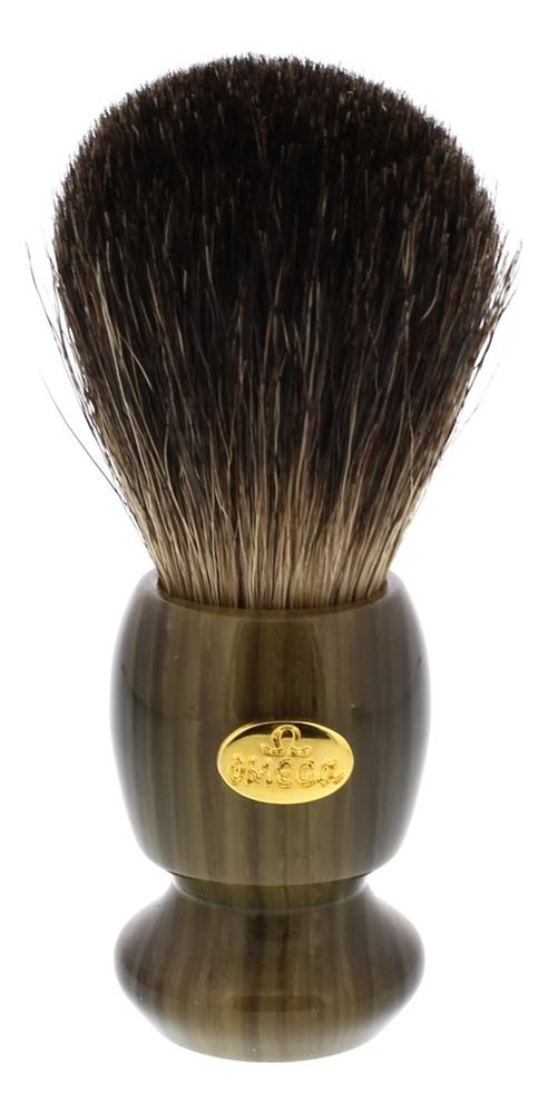 Фото - Помазок для бритья Барсучий ворс 10,5см 6223 помазок omega 618 барсучий ворс