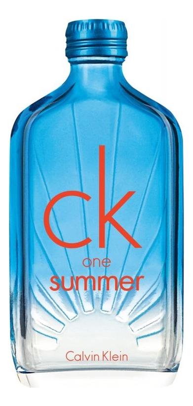 CK One Summer 2017: туалетная вода 100мл тестер