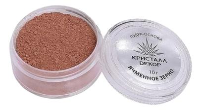 Тональная пудра-основа для макияжа лица Кристалл Dекор 10г: Ячменное зерно