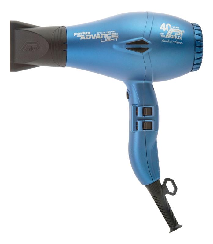 Фен для волос Advance Light 2200W (2 насадки, синий)