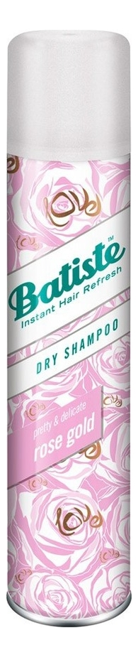 Купить Сухой шампунь для волос Dry Shampoo Rose Gold 200мл (с ароматом розы), Batiste