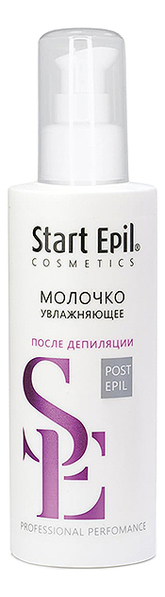 Молочко увлажняющее для ухода за кожей после депиляции Start Epil Post Epil 160мл