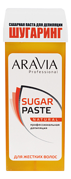 Сахарная паста для шугаринга в картридже Натуральная Professional Sugar Paste Natural 150г aravia professional сахарная паста в картридже натуральная 150 г