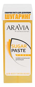 Сахарная паста для шугаринга в картридже Медовая Professional Sugar Paste Honey 150г aravia professional сахарная паста в картридже натуральная 150 г