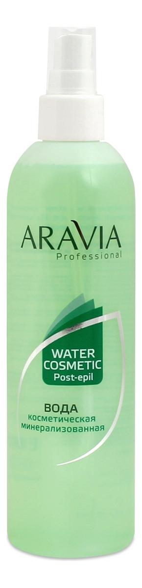 Вода косметическая минерализованная с мятой и витаминами Professional Water Cosmetic Post-Epil 300мл