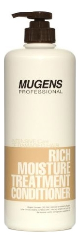 Фото - Кондиционер для волос увлажняющий Mugens Rich Moisture Treatment Conditioner 1000мл спрей для волос восстанавливающий mugens zen care ss treatment 500мл