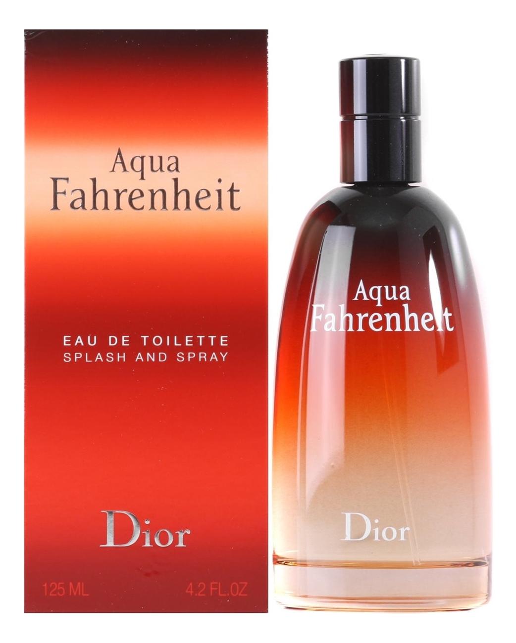 Christian Dior Fahrenheit Aqua: туалетная вода 125мл christian dior fahrenheit absolute туалетная вода тестер 100 мл