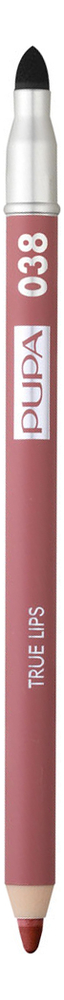 Карандаш для губ с аппликатором True Lips Pencil 1,2г: 038 Pink Nude