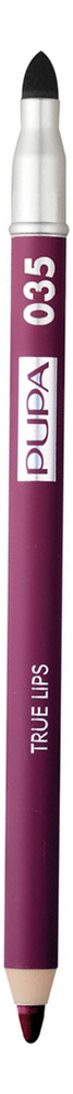 Карандаш для губ с аппликатором True Lips Pencil 1,2г: 035 Deep Purple