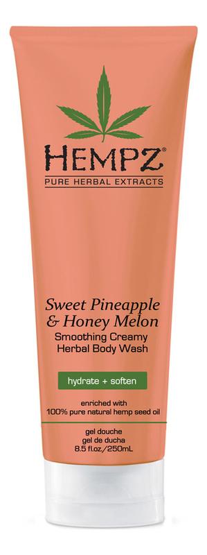 Гель для душа Sweet Pineapple & Honey Melon Herbal Body Wash (ананас и медовая дыня): Гель 250мл