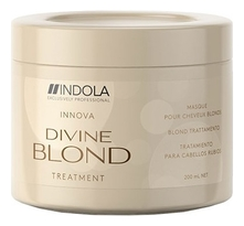 Indola Восстанавливающая маска для светлых волос Innova Divine Blond Treatment 200мл