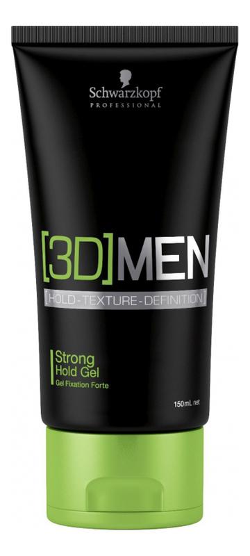 Гель для волос сильной фиксации [3D]Men Strong Hold Gel 150мл фото