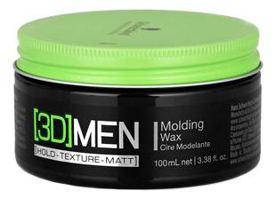 Купить Моделирующий воск для волос [3D]Men Molding Wax 100мл, Schwarzkopf Professional