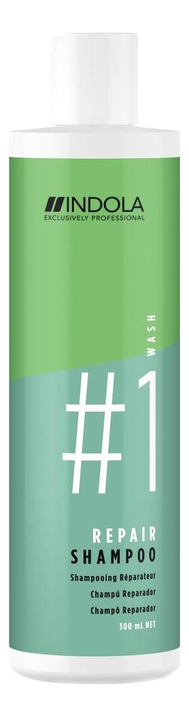 Фото - Восстанавливающий шампунь для волос Innova Repair Shampoo: Шампунь 300мл шампунь для восстановления поврежденных волос indola innova repair shampoo 300 мл