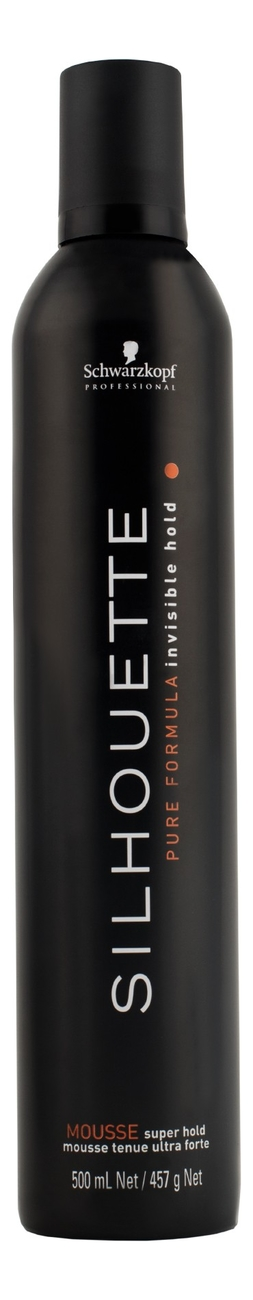 Мусс для ультрасильной фиксации волос Silhouette Super Hold Mousse 500мл безупречный спрей ультрасильной фиксации 200 мл schwarzkopf professional silhouette