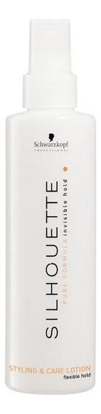 Лосьон для мягкой фиксации волос Silhouette Flexible Hold Styling & Care Lotion 200мл