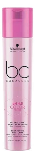 Купить Бессульфатный шампунь для окрашенных волос BC Color Freeze Sulfate-Free Shampoo: Шампунь 250мл, Schwarzkopf Professional
