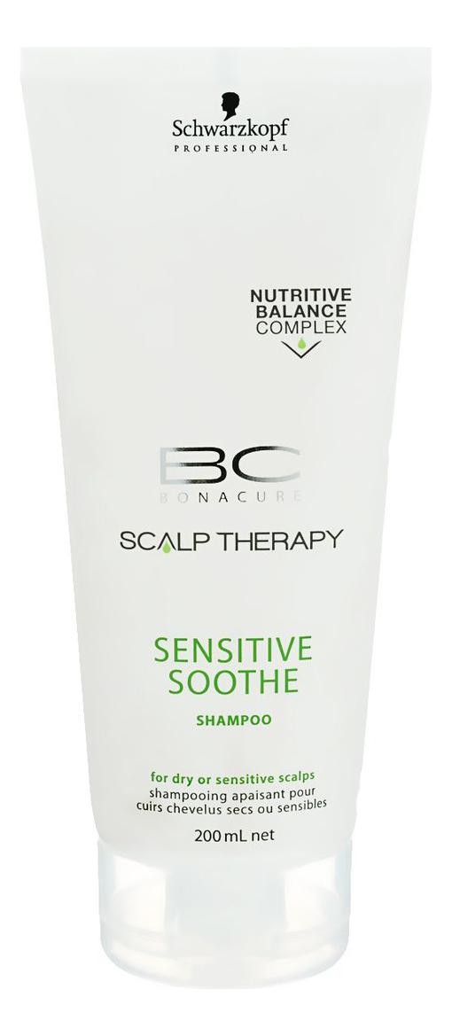 Купить Шампунь для чувствительной кожи головы BC Scalp Therapy Sensitive Soothe Shampoo 200мл, Schwarzkopf Professional