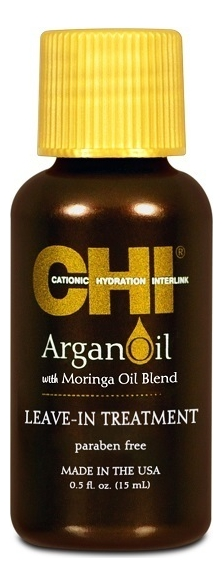 Купить Восстанавливающее масло для волос Argan Oil Plus Moringa: Масло 15мл, CHI