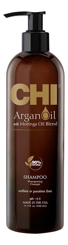 Восстанавливающий шампунь с маслом арганы Argan Oil Plus Moringa Shampoo: Шампунь 340мл шампунь с маслом арганы