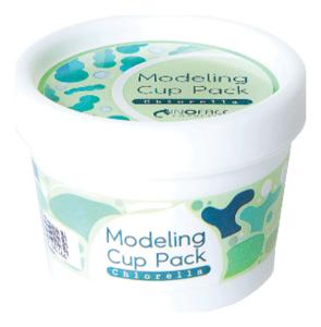 Альгинатная маска с водорослями хлореллы Chlorella Modeling Cup Pack 18г альгинатная маска с коллагеном inoface modeling cup pack collagen
