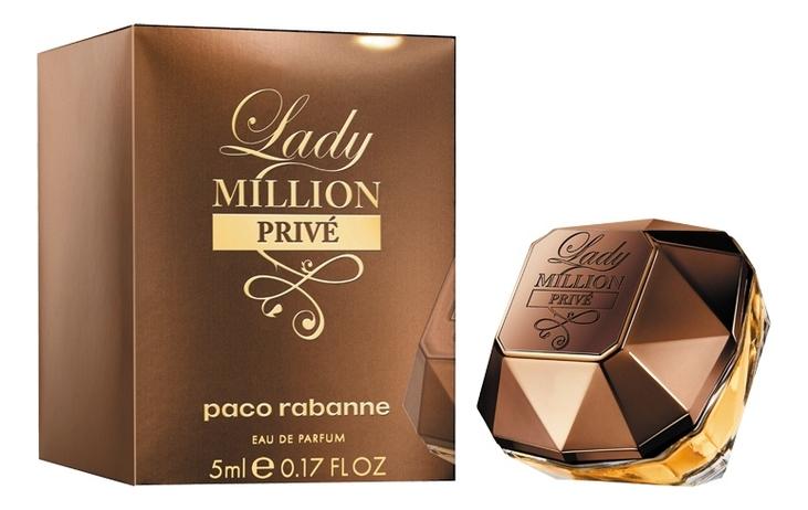 Paco Rabanne Lady Million Prive: парфюмерная вода 5мл фото