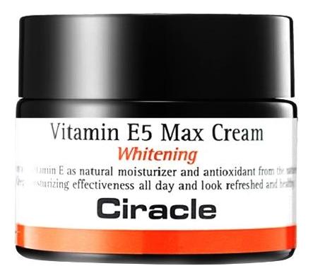 Крем для лица осветляющий Vitamin E5 Max Cream Whitening 50мл