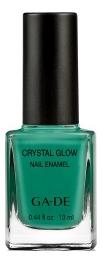 Лак для ногтей Crystal Glow Nail Enamel 13мл: 536 Samba Green