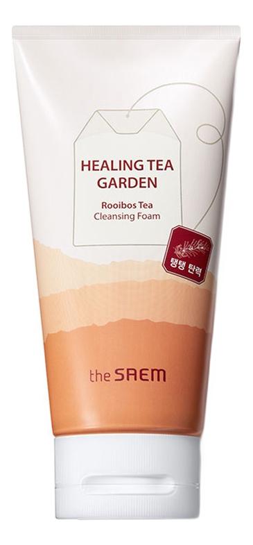 Пенка для умывания с экстрактом чая ройбуш Healing Tea Garden Rooibos Tea Cleansing Foam: Пенка 150мл