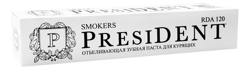 Купить Зубная паста отбеливающая для курящих Smokers 75мл, PresiDENT